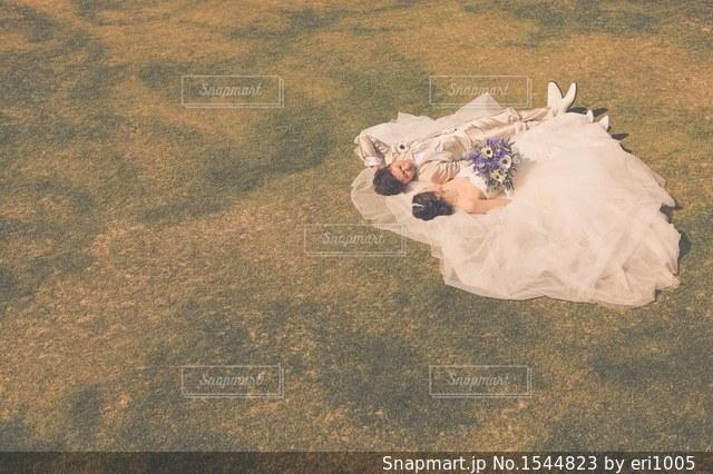 ウェディングフォトの写真・画像素材[1544823]