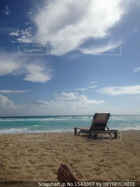 カリブビーチの写真・画像素材[1543007]