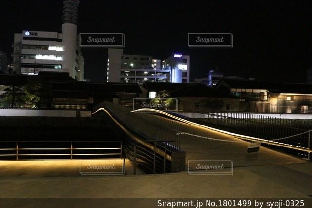 長崎出島表門橋の写真・画像素材[1801499]