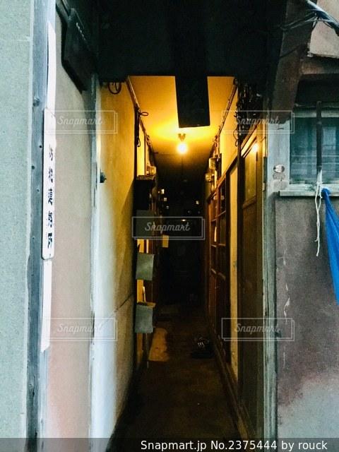 昭和のアパートの写真・画像素材[2375444]