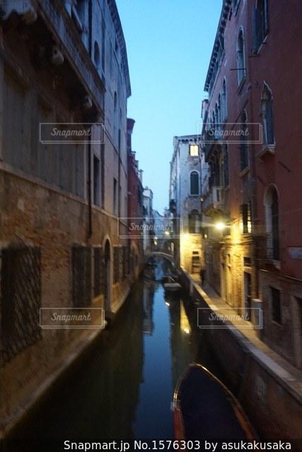 ヴェネチアにての写真・画像素材[1576303]