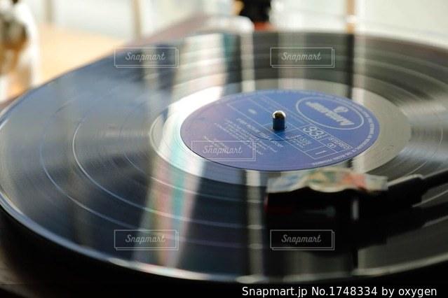 レコードと生活の写真・画像素材[1748334]