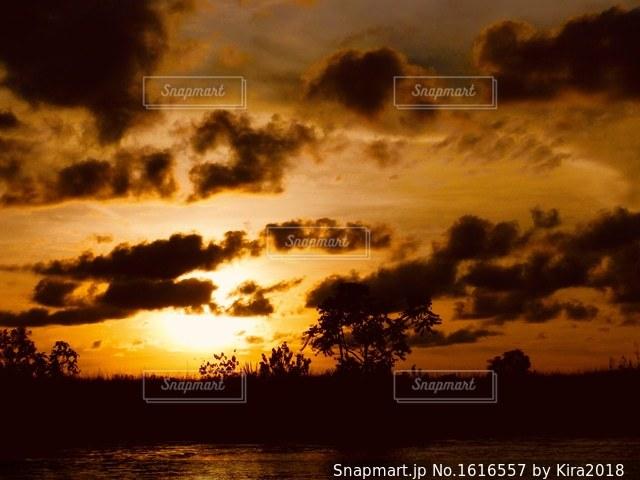 夕暮れの写真・画像素材[1616557]