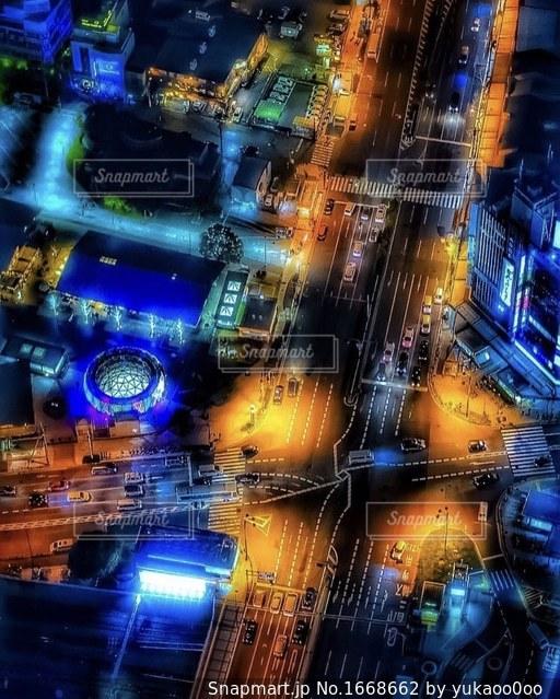 夜景の写真・画像素材[1668662]