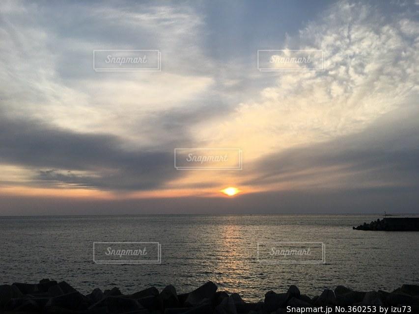 海,空,夕日,太陽,夕焼け,夕暮れ,日本,sunset,Sky,japan,sea,和歌山,Wakayama