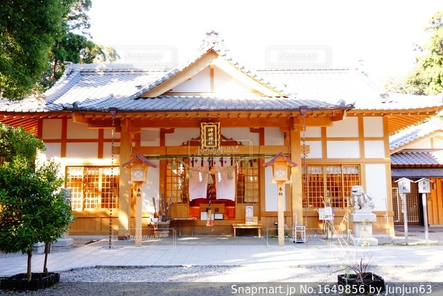 神明神社⛩の写真・画像素材[1649856]