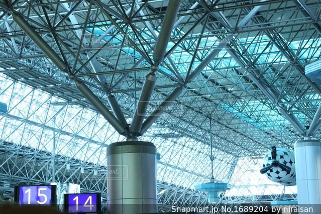 桃園国際空港の写真・画像素材[1689204]