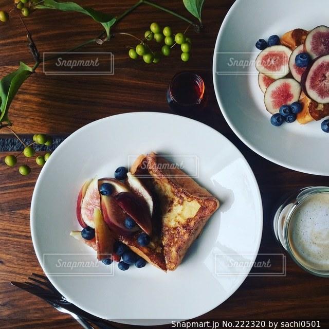 フレンチトーストの写真・画像素材[222320]
