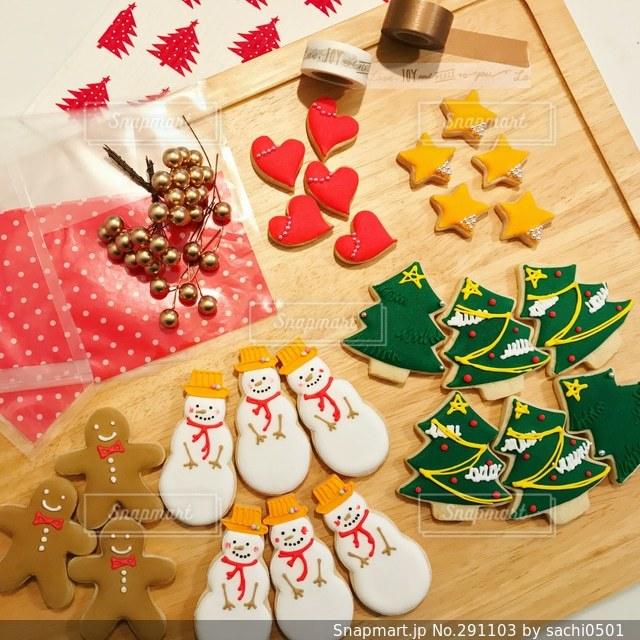 クリスマスアイシングクッキー - No.291103