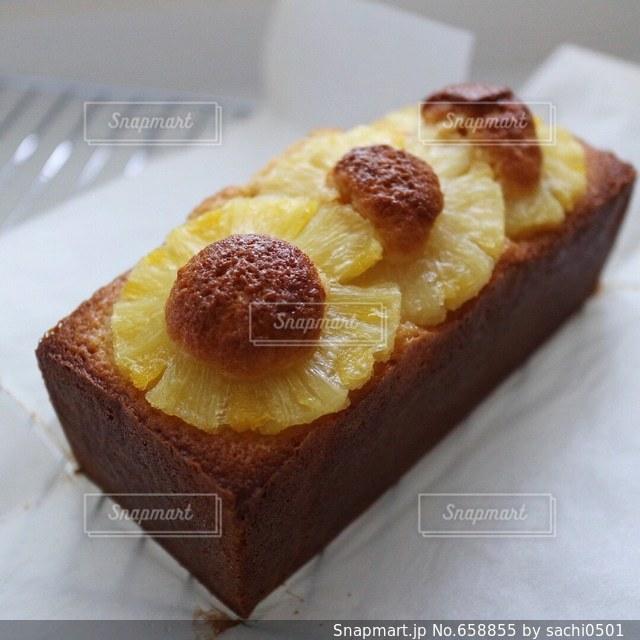 パウンドケーキの写真・画像素材[658855]