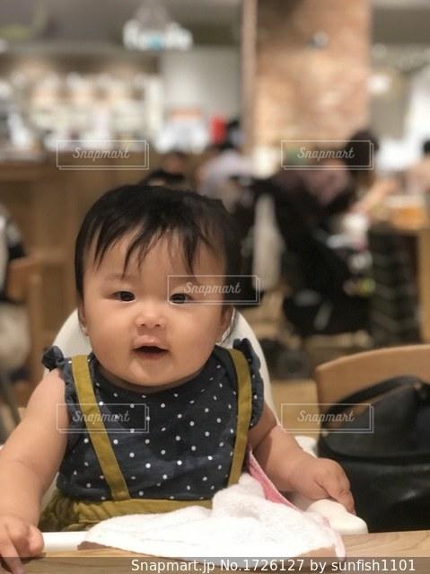 むちむち赤ちゃんの写真・画像素材[1726127]