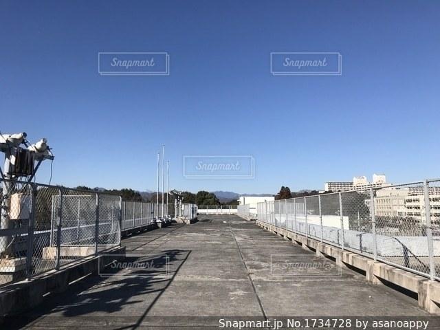 学校の屋上の写真・画像素材[1734728]