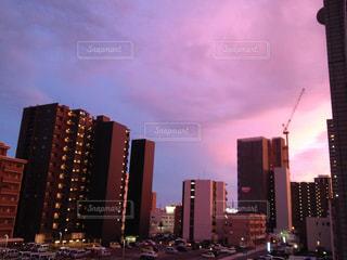 都市の高層ビルの写真・画像素材[1862829]
