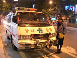 救急車の写真・画像素材[2037468]