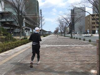 市民ランナー2の写真・画像素材[2107254]