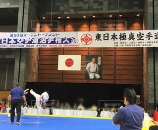 男性,スポーツ,空手,室内,運動,インドア,大会,武道,カラテ,空手選手権大会,回し蹴り