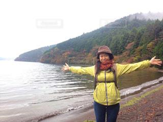 芦ノ湖の写真・画像素材[2226850]