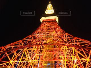 夜の東京タワーの写真・画像素材[2748865]