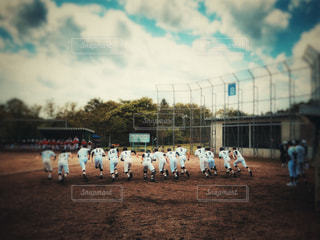 10代,空,スポーツ,屋外,女,女子,男,男子,ランニング,野球,試合,仙台,ユニフォーム,宮城県,グランド,遠征,練習試合,学校生活,スタートダッシュ
