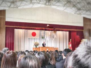 卒業式の写真・画像素材[1855919]