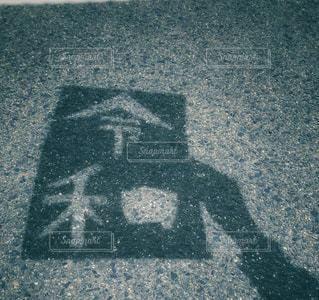 通りのクローズアップの写真・画像素材[2103052]