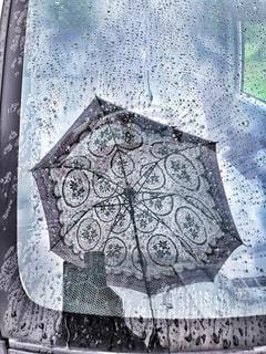 雨,傘,車,影,鏡,人,雫,シャドー,雨の日,カゲ,フロントガラス,ドラマ加工