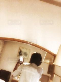 ホテルにての写真・画像素材[2462487]