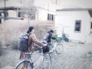 行ってきま〜すの写真・画像素材[2626928]