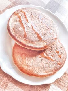 ホットケーキの写真・画像素材[3203784]