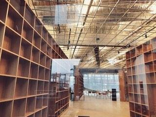 図書館の写真・画像素材[3719800]