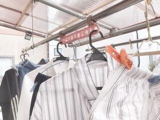 洗濯物の写真・画像素材[3729716]