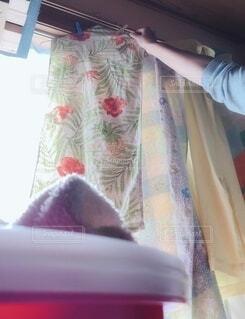 洗濯干しの写真・画像素材[3729799]