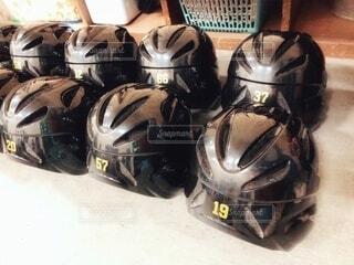 ヘルメットの写真・画像素材[3803056]