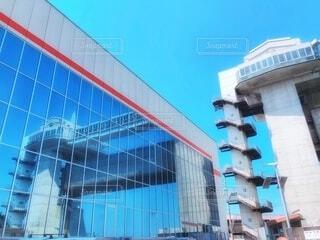 沼津港大型展望水門びゅうおの写真・画像素材[4103676]