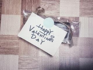バレンタインメッセージの写真・画像素材[4150321]