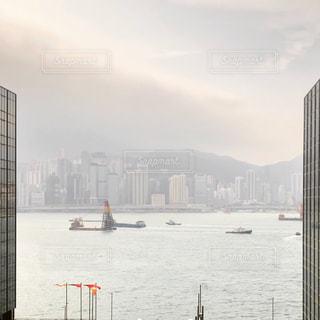 自然,海,海外,観光,都会,旅行,旅,港,香港,海外旅行,ハーバー