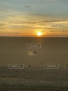 風景,空,太陽,砂,光,砂漠,日の出,エジプト,夜明け前,sunrise,Egypt,アブシンベル神殿