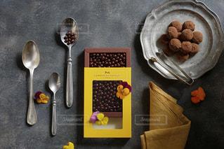 バレンタインにラメゾンデュショコラのチョコレートを!の写真・画像素材[2907415]
