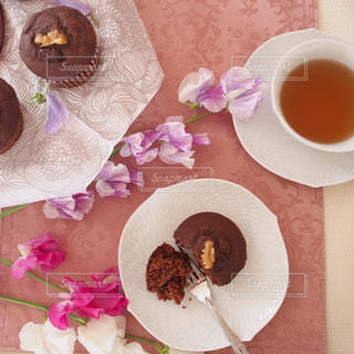 バレンタイン,おうちカフェ,チョコケーキ,バレンタインプレゼント