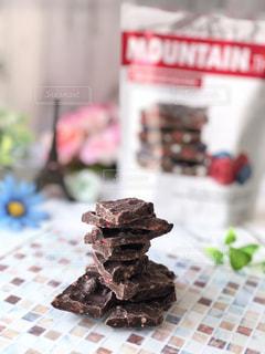 食べ物,スイーツ,山,デザート,ブルーベリー,お菓子,チョコレート,チョコ