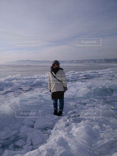 氷上の写真・画像素材[1753986]