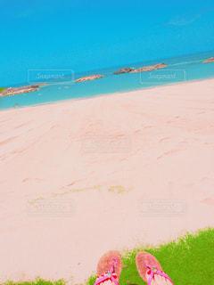 風景,海,夏,海外,ビーチ,青空,足元,砂浜,鮮やか,旅行,ハワイ,夏休み,バケーション,海外旅行,フォトジェニック,コオリナ