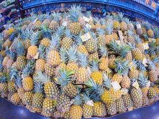 食べ物,黄色,フルーツ,果物,果実,パイナップル,ハワイ,スーパー,食材