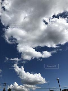 青々とした空の写真・画像素材[1869720]