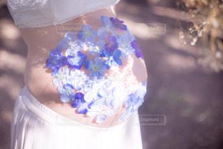 それの花と花瓶の写真・画像素材[905639]