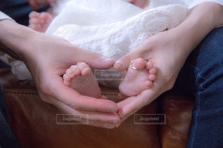 赤ちゃんの手の写真・画像素材[1052497]