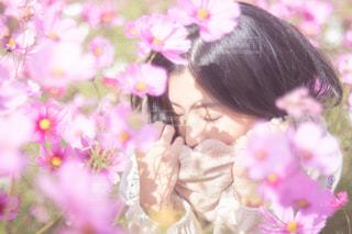 近くの花のアップの写真・画像素材[1585710]