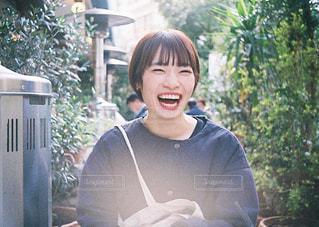 まあるい笑顔と、笑い声の写真・画像素材[2930632]