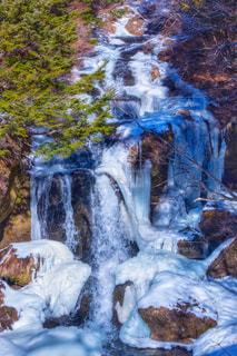 氷瀑の写真・画像素材[1753227]