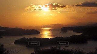 海,夕日,三重,黄昏,志摩,ともやま公園,リアス式海岸,伊勢志摩国立公園